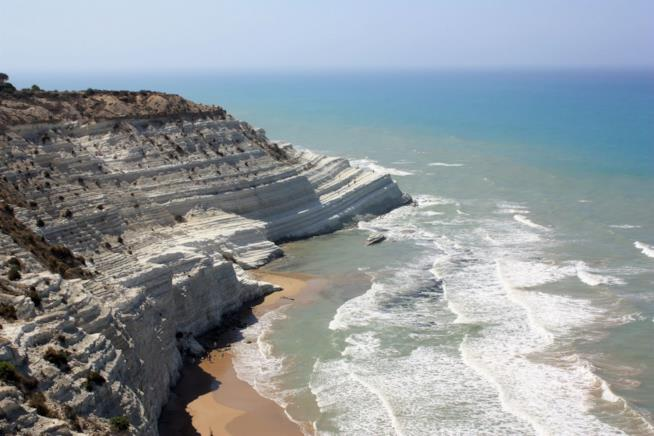 Spiagge top vacanze primavera: Scala dei Turchi, Agrigento