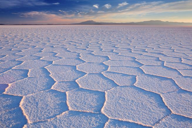 La distesa di sale di Uyuni