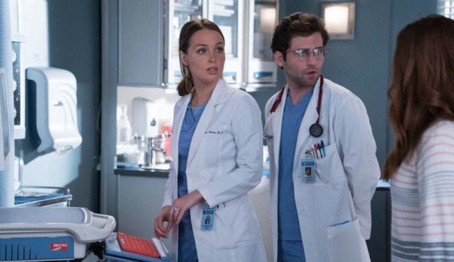 Jo in una scena di Grey's Anatomy 14x21