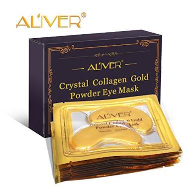 maschera 24 K Oro in polvere e collagene
