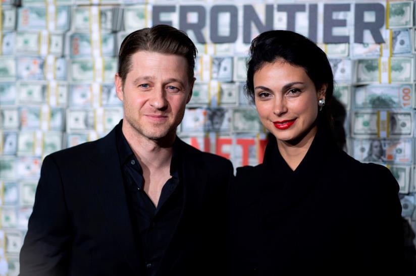 Ben McKenzie e la moglie Morena Baccarin