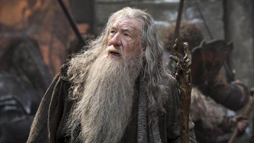 Ian McKellen ne Il Signore degli Anelli