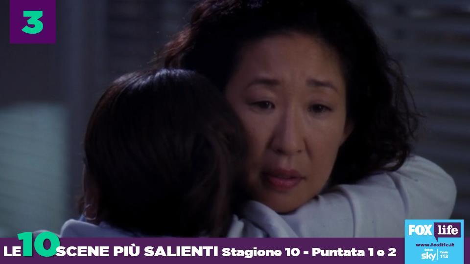 La Bailey abbraccia Cristina per aver salvato il cuore di Webber.