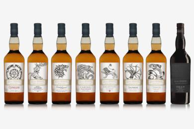 I whisky Diageo dedicati a Game of Thrones