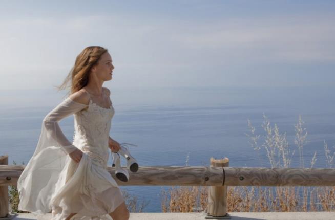 L'abito da sposa di Vanessa Paradis-Juliette nel film Il truffacuori