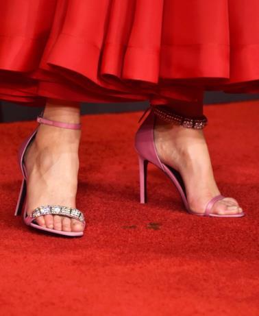 Un dettaglio dell'outfit di Nicole Kidman