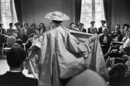 Dior e le modelle negli anni '50