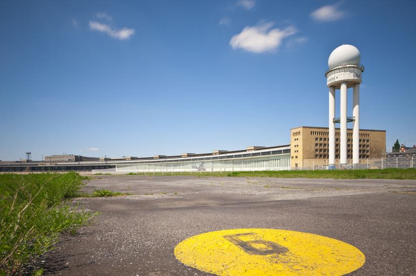 Ex aeroporto di Tempelhof a Berlino