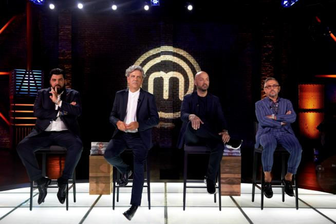 Antonino Cannavacciuolo, Giorgio Locatelli, Joe Bastianich e Bruno Barbieri