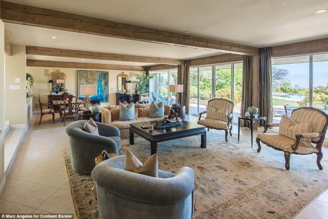 L'interno della casa di Elizabeth Taylor