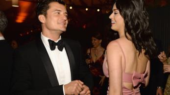 Katy Perry e Orlando Bloom ai tempi della loro relazione