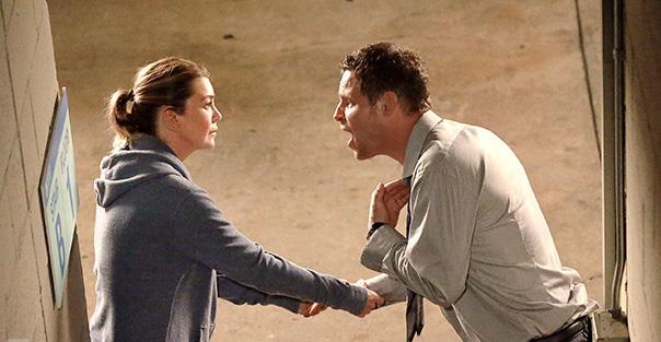 Meredith e Alex in Grey's Anatomy 13