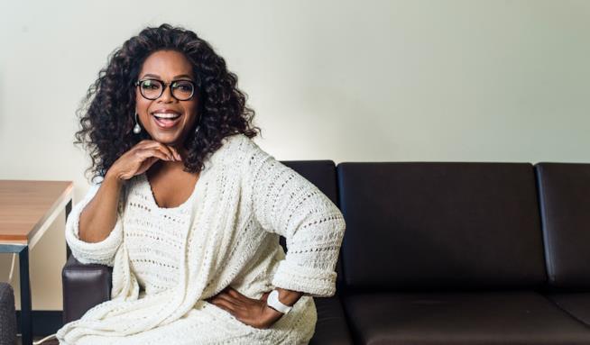 L'icona Oprah Winfrey
