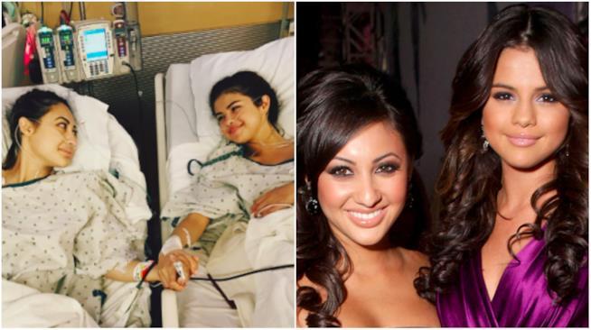 Selena Gomez e Francia Raisa in ospedale e durante una serata