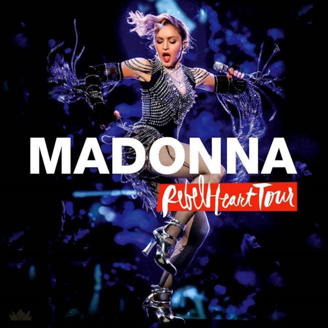 Madonna: la cover di Rebel Heart Tour