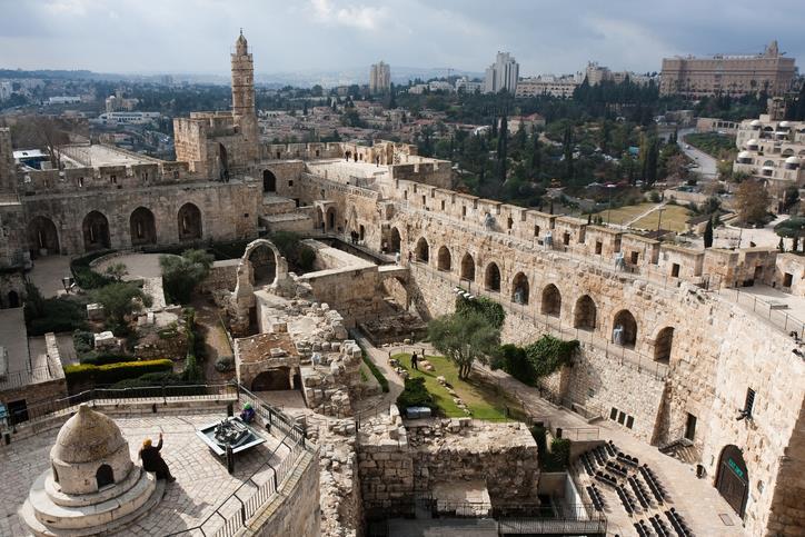 Antiche mura di Gerusalemme