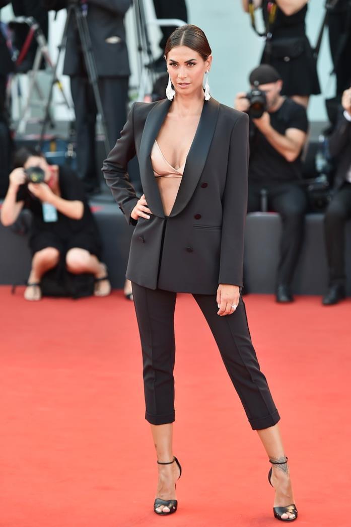 Melissa Satta sul red carpet di Venezia