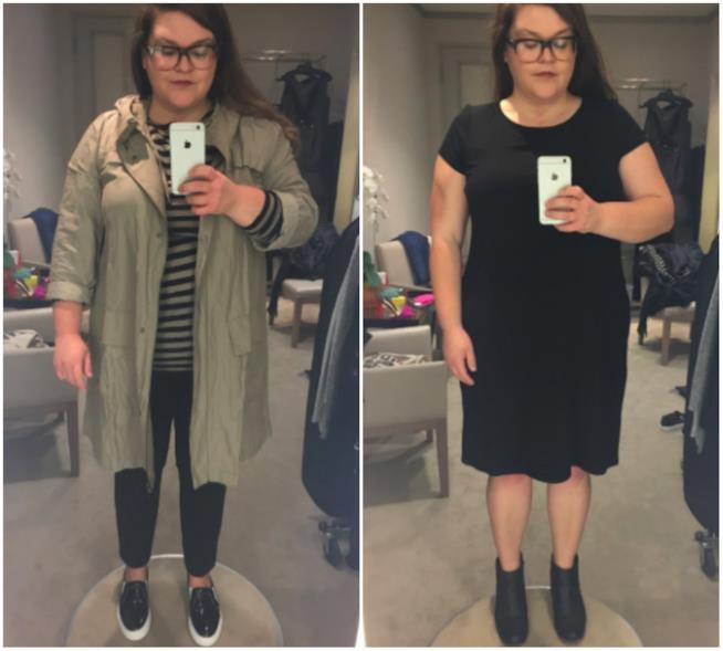 Collage outfit Saks Kristin Chirico