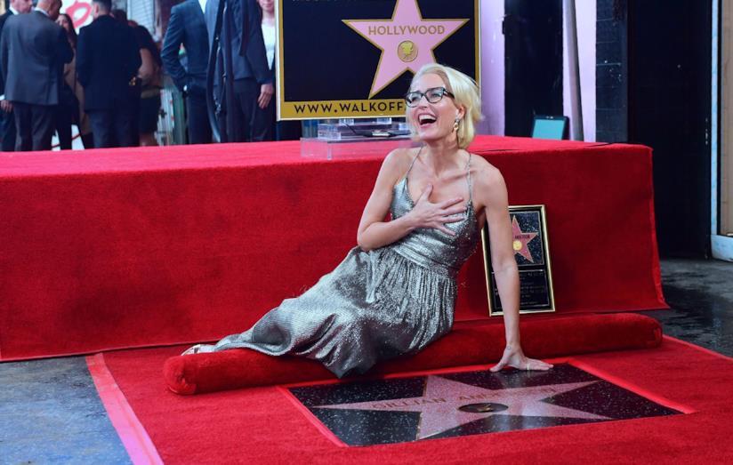 Gillian Anderson sulla Walk of Fame