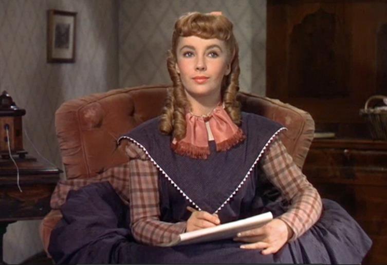 Elizabeth Taylor in una scena di Piccole Donne