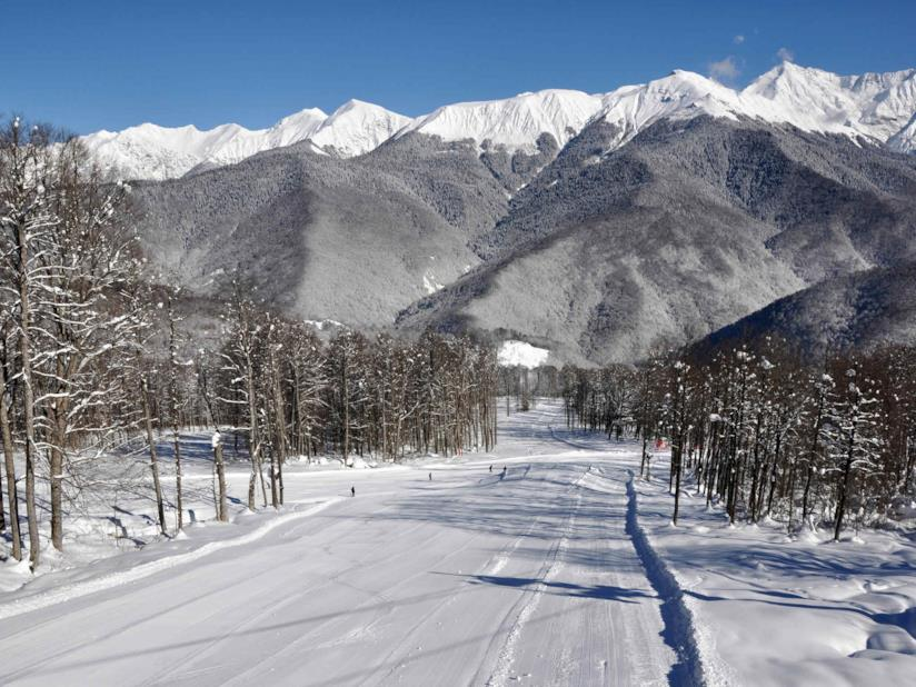 Rosa Khutor Mountain Ski Center, Sochi