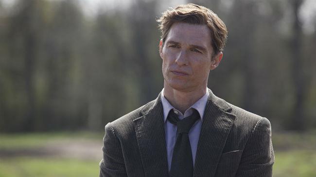 Matthew McConaughey nella serie TV True Detective