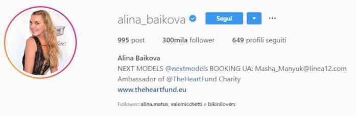 Profilo Alina Baikova