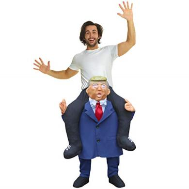 Costume gonfiabile da Donald Trump