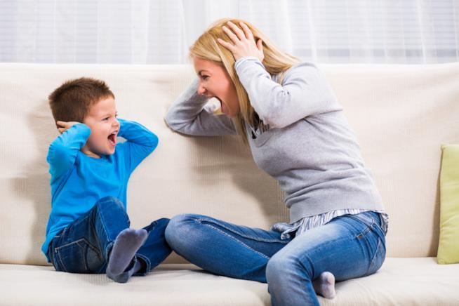 Bambino che non ascolta