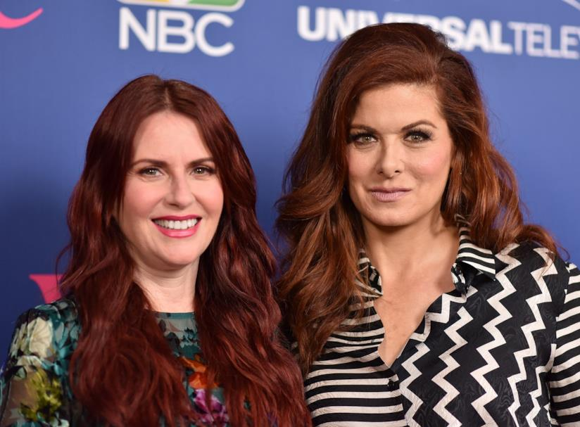 Megan Mullally e Debra Messing