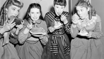 Una scena di Piccole Donne del 1949