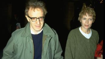 Woody Allen con Mia Farrow