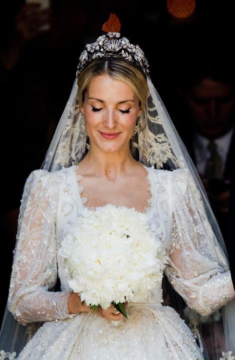 Primo piano della sposa Katia Malysheva