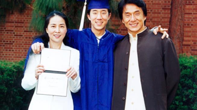 Jackie Chan e Jaycee Chan