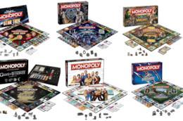 collage di Edizioni speciali del monopoli