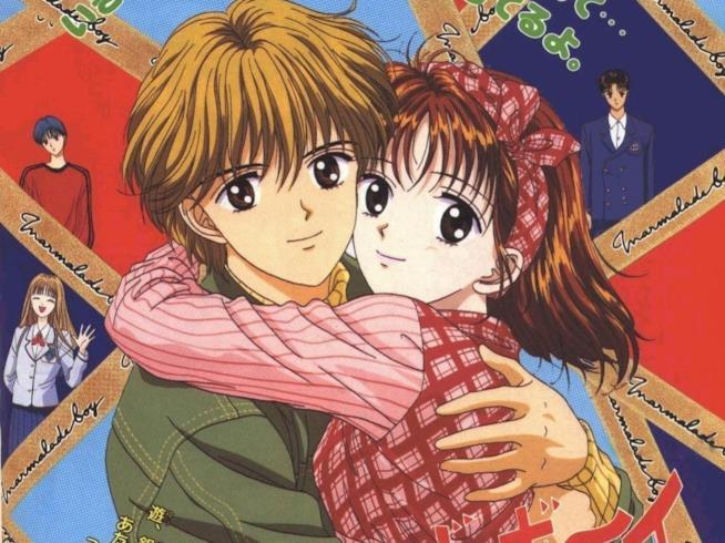 I protagonisti Yuri e Miki nel cartone animato Piccoli problemi di cuore