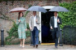 Kate Middleton e i principi William e Harry