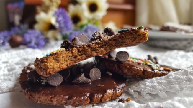 Dolcetto croccante al cioccolato