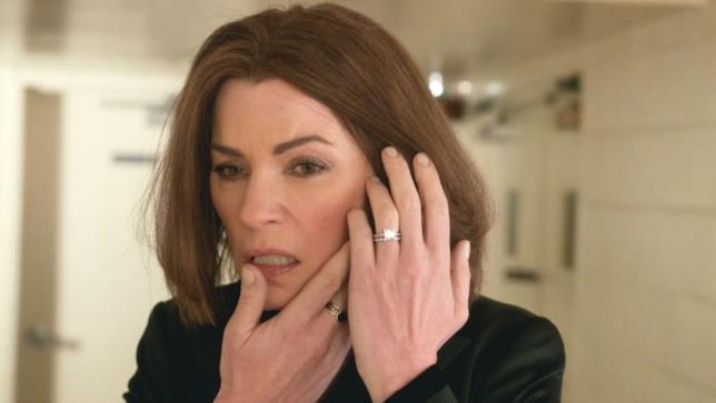 Alicia nell'ultimo episodio di The Good Wife