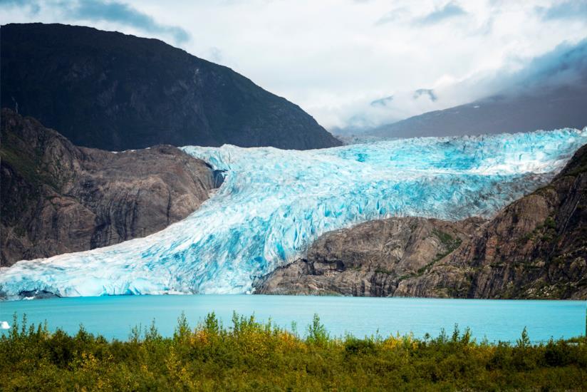 Il ghiacciaio Mendenhall