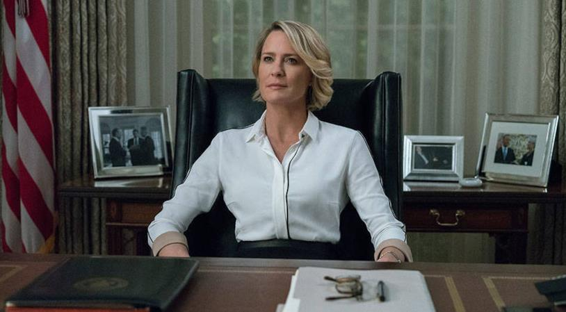 Robin Wright è Claire Underwood in House of Cards