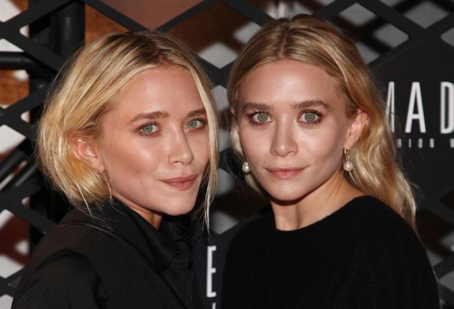 Mary-Kate e Ashley Olsen gemelle fashion