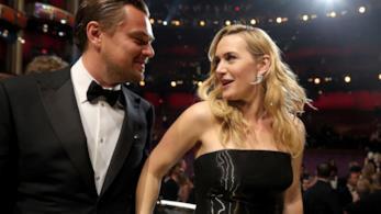 Leonardo DiCaprio e Kate Winslet ai Bafta 2016