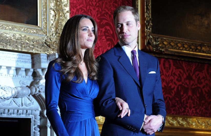 Kate Middleton e il Principe William fidanzati