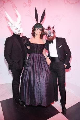 Ospiti al ballo surrealista Dior