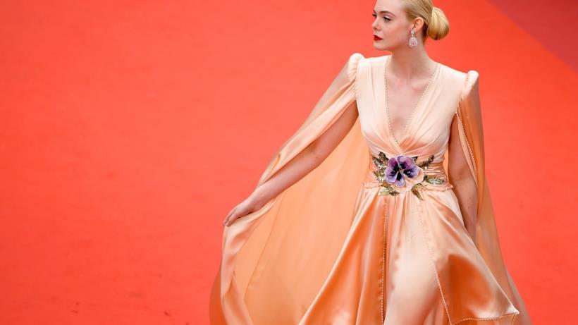 Elel Fanning sul red carpet di Cannes 2019