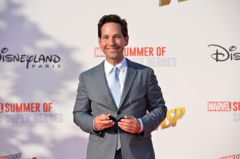 Il protagonista di Ant-Man and the Wasp Paul Rudd