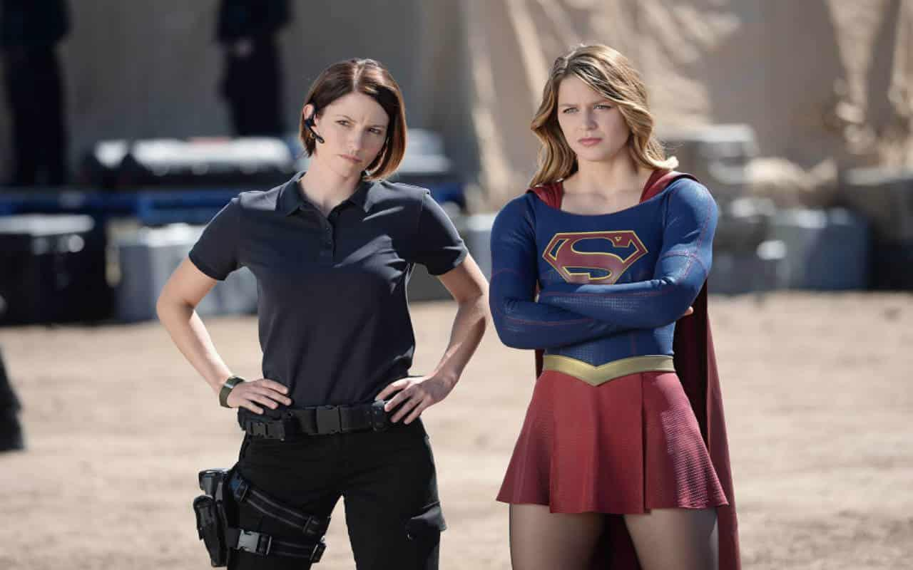 Chyler Leigh in Supergirl