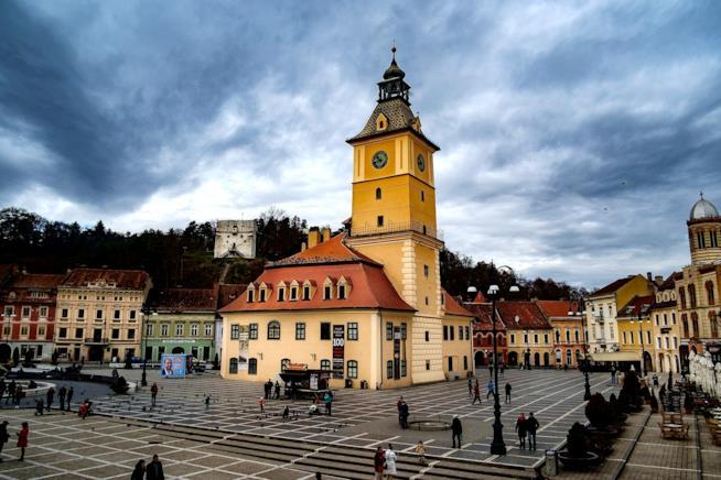Vista di Brasov