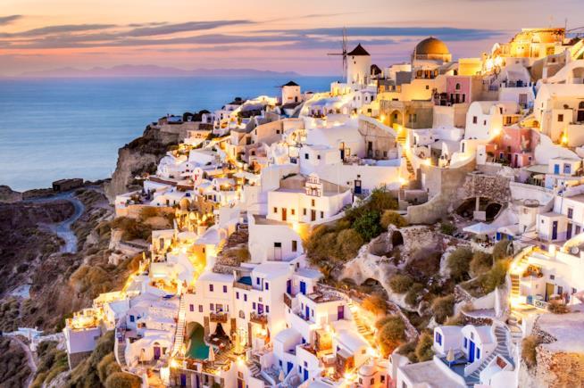 Ferragosto a Santorini